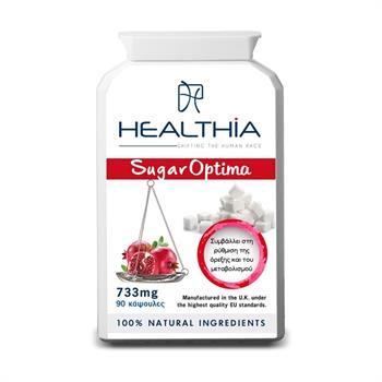 Healthia Sugar Optima 733mg 90caps