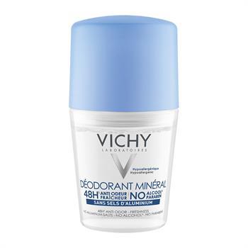 Vichy Deodorant Mineral 48h Roll-On 50ml