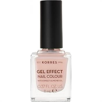 Korres Gel Effect Nail No 04 Peony Pink 11ml