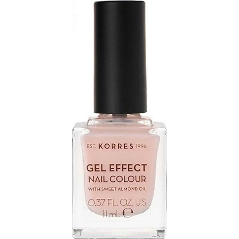 Korres Gel Effect Nail No 04 Peony Pink 11ml