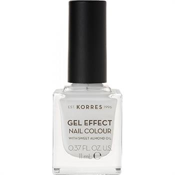 Korres Gel Effect Nail No 01 Blanc White 11ml
