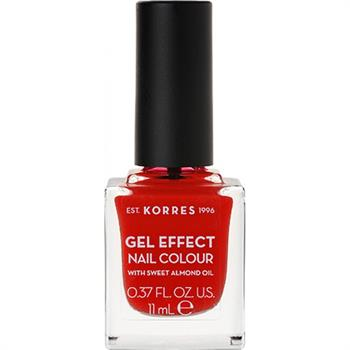 Korres Gel Effect Nail No 48 Coral Red 11ml