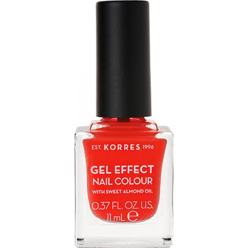 Korres Gel Effect Nail No 45 Coral 11ml