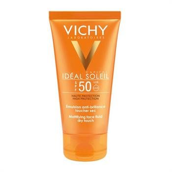 Vichy Ideal Soleil Dry Touch face fluid SPF50+ 50 ml