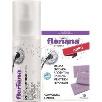 Power Health Fleriana Spray 100ml & Fleriana Πλακίδια 10τμχ
