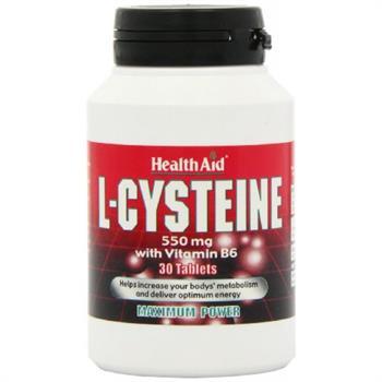 Health Aid L- Cysteine 550mg 30tabs