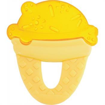 Chicco Δροσιστικός Κρίκος Οδοντοφυΐας Παγωτό Κίτρινο 1τμχ