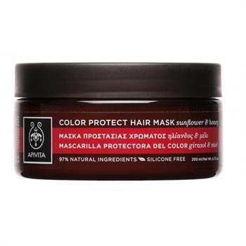 Apivita Colour Protect Hair Mask για Βαμμένα Μαλλιά με Ηλίανθο & Μέλι 200ml