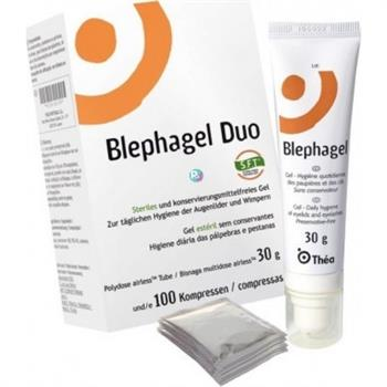 Thea Blephagel Duo 30gr & 100 compresses