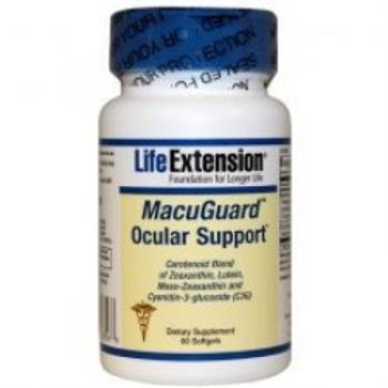 Life Extension MacuGuard Ocular Support 60softgels
