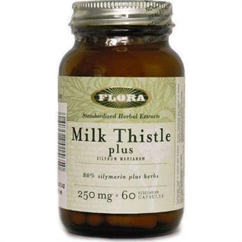 Flora Milk Thistle Plus 250mg 60tabs