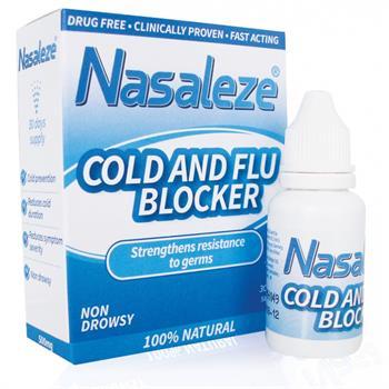 Nasaleze Cold & Flu Blocker Spray 800mg