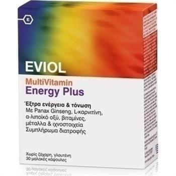 Eviol MultiVitamin Energy Plus 30 soft gels
