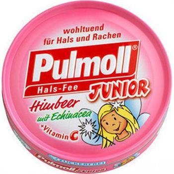 Pulmoll Junior Vitamin C 45gr Βατόμουρο