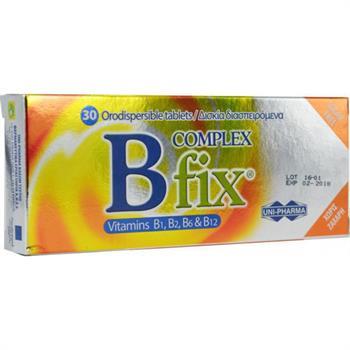 Uni-Pharma B Complex Fix 30tabs