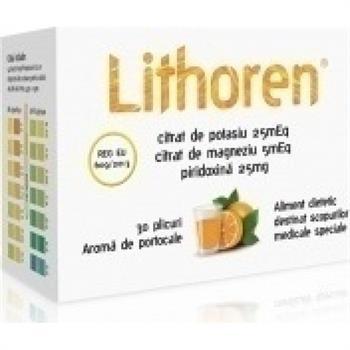 Meditrina Lithoren 30 φακελίσκοι Πορτοκάλι