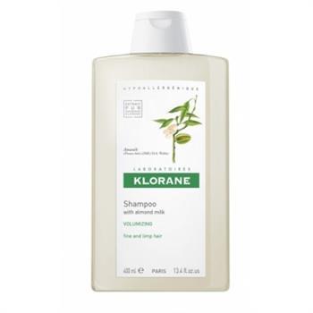 Klorane Shampoo με Αμύγδαλο για Λεπτά Μαλλιά Χωρίς Όγκο 400ml