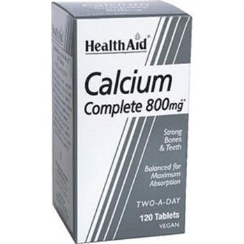 Health Aid Calcium Complete 800mg 120tabs
