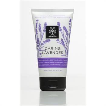 Apivita Caring Lavender Ενυδατική & Καταπραϋντική Κρέμα Σώματος 150ml