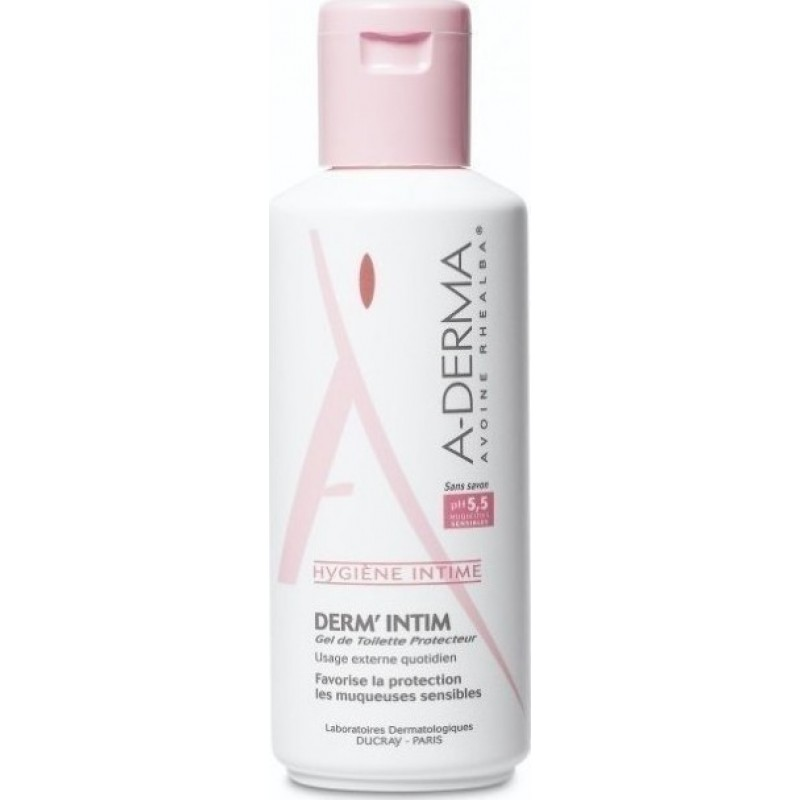 A-Derma Derm' Intim Protective Cleansing Gel Ph5.5 200ml