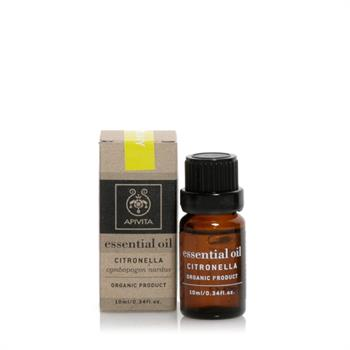 Apivita Essential Oils Αιθέριο Έλαιο Σιτρονέλα 10ml
