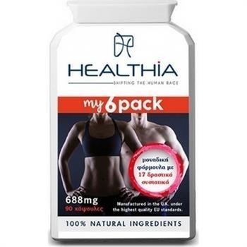 Healthia My 6 Pack 688mg 90caps