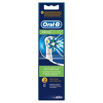 Oral-B CrossAction 2 Ανταλλακτικές Κεφαλές Ηλεκτρικής Οδοντόβουρτσας