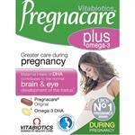 Vitabiotics Pregnacare Plus με Ωμέγα 3 Λιπαρά Οξέα 28tabs & 28caps