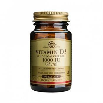 Solgar Vitamin D3 1000 IU/25μg 90tabs