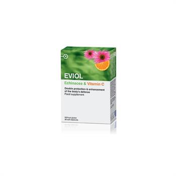 Eviol Echinacea & Vitamin C 30Caps
