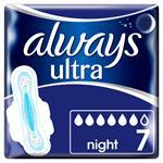 Always Ultra Night Σερβιέτες με Φτερά 7τμχ