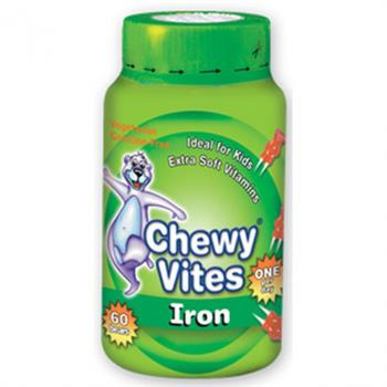 Vican Chewy Vites Jelly Bears Iron 60 μασώμενα ζελεδάκια