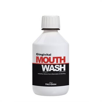 Frezyderm Gingivital Mouthwash Στοματικό Διάλυμα για την Αντιμετώπιση της Ουλίτιδας 250ml
