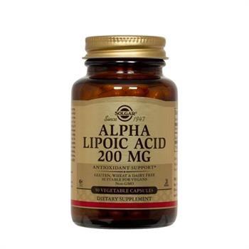 Solgar Alpha Lipoic Acid 200mg 50caps