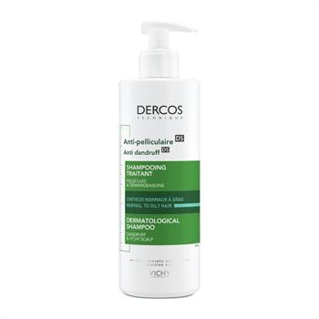 Vichy Dercos Anti-Dandruff Shampoo Normal-Oily Hair Pump 390ml