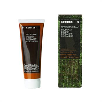 Korres After Shave Mountain Pepper Bergamot Coriander 125ml
