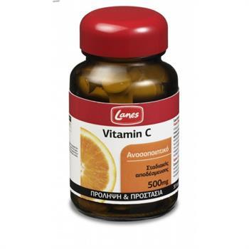 Lanes Vitamin C 500mg 30tabs
