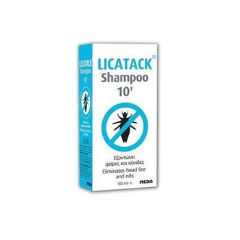 Licatack Shampoo 10 λεπτών 100ml