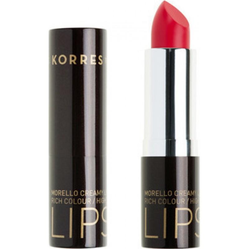 Korres Morello Creamy Lipstick 44 Luminous Coral 3,5gr