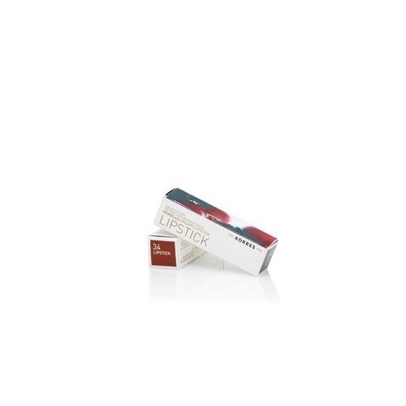 Korres Morello Creamy Lipstick 34 Mocha Brown 3,5gr