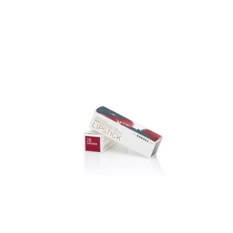 Korres Morello Creamy Lipstick 28 Pearl Berry 3,5gr