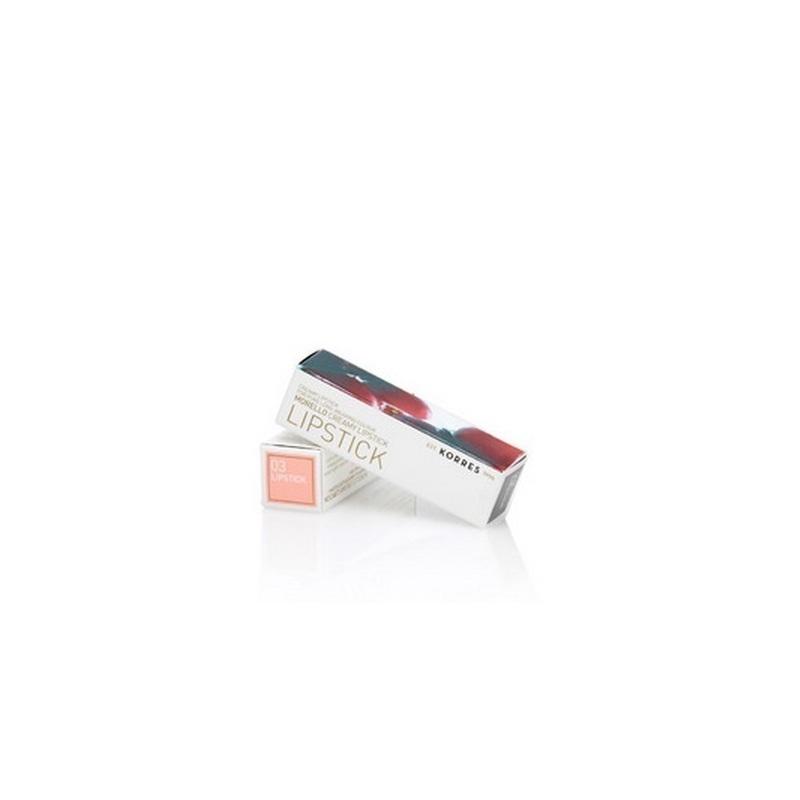 Korres Morello Creamy Lipstick 03 Warm Beige 3,5gr