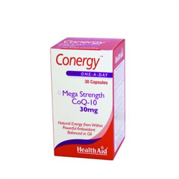 Health Aid Conergy Q10 30mg 30caps