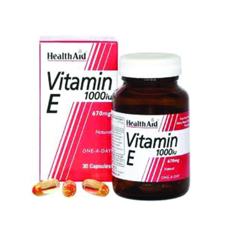 Health Aid Vitamin E 1000IU 670mg 30caps