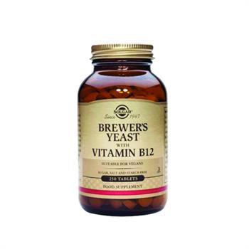 Solgar Brewer's Yeast with Vitamine B12 250tabs