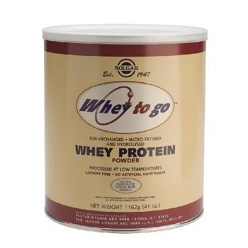 Solgar Whey to Go Protein Chocolate Powder 1162gr