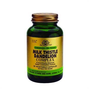Solgar SFP Milk Thistle / Dandelion Complex 50caps