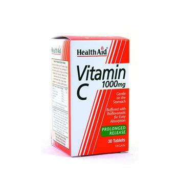 Health Aid Vitamin C 1000mg Prolonged Release 30tabs