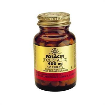 Solgar Folacin Φυλλικό οξύ 400mg 100tabs