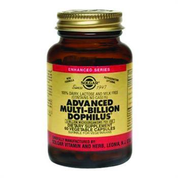 Solgar Advanced Multi-Billion Dophilus Φόρμουλα Προβιοτικών 60caps